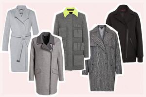 Wintermäntel aus Wolle in Grau online bestellen, modetrend, wollmäntel, mantel, wintertrend