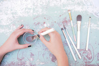 Make-up Pinsel regelmäßig reinigen - Anleitung und Pinselreiniger, Wie reinige ich Make-up Pinsel