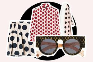 Trend Sommer 2014 polka dots und pünktchen