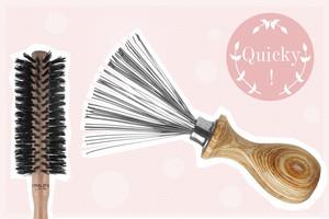 Haarbürstenreiniger oder Kairbrush Cleaner von Philip B und Haarbürste aus Holz online bestellen