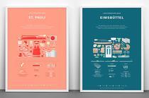 i love stereotypes about - Plakate und Poster zu den Stadtteilen von Hamburg, online bestellen, Illustration, Design