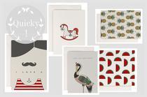 Postkarten und Grußkarten mit Grafik und Illustration von redfries