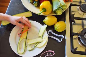 Grillzubehör - Gemüseausstecher von donkey products für Fleischesser und Vegetarier