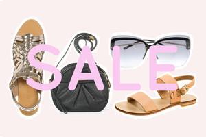 Sale - Sommerschlussverkauf für Designermode und Schnäppchen - Schuhe, Sandalen, Taschen, Sonnenbrillen und Accessoires