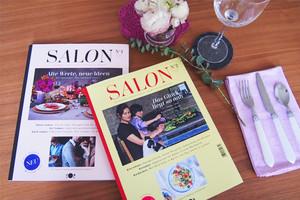 Zeitschrift für Essen, Einladen und Rezepte - Salon Mag und Interview mit CHefredakteurin Anne Petersen
