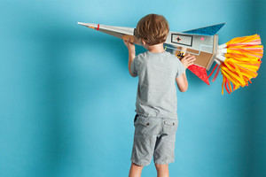 Schultüte oder Rakete für Kinder zum Selber Basteln mit Anleitung von We Like Mondays, diy, blog