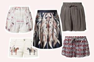 Sommertrend Shorts - Seidenshorts, Culottes, Hosenrock, Jeans Shorts, Shorthosen, lang, hoch geschnitten und weit