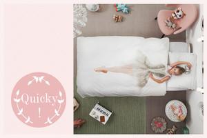 Bettwäsche für Kinder von Snurk mit Fotodruck von Ballerina, Austronaut oder Feuerwehrmann, online bestellen