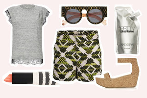 Shop the Look - Styling mit dem Sommertrend SHORTS - direkt online bestellen, Outfit