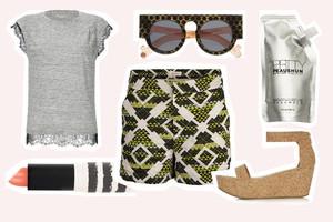 Shop the Look - Styling mit dem Sommertrend SHORTS - direkt online bestellen, Outfit