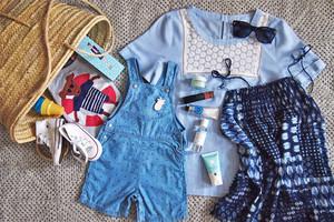Urlaub mit Kind - Was packe ich in meinem Koffer von Kleidung bis Kosmetik, Tips, emfehlung