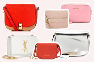 Designertaschen, YSL Monogramme Bag, Miu Miu, Marni, Asos, Oasis, Michael Kors - Umhängetaschen aus Leder