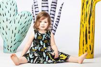 Label für Kindermode Thief and Bandit aus Kanada, Mode mit Prints und bunten Drucken