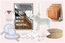 Wohnaccessoires und Dekoration für die Wohnung mit Kupfer, Holz und Farbe online bestellen