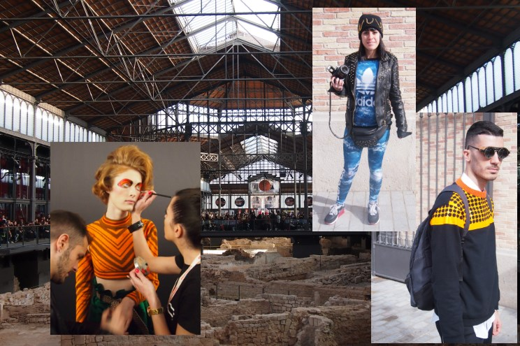 080 Barcelona Fashion in El Born, Barcelona Streetstyle - Autumn/Winter 2014/15, arce