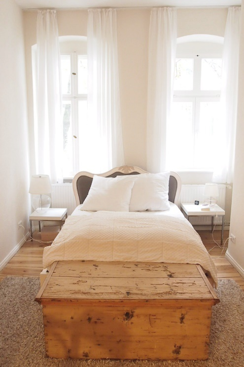 Himmelbett und Schlafzimmer Einrichtung, Interiordesign,