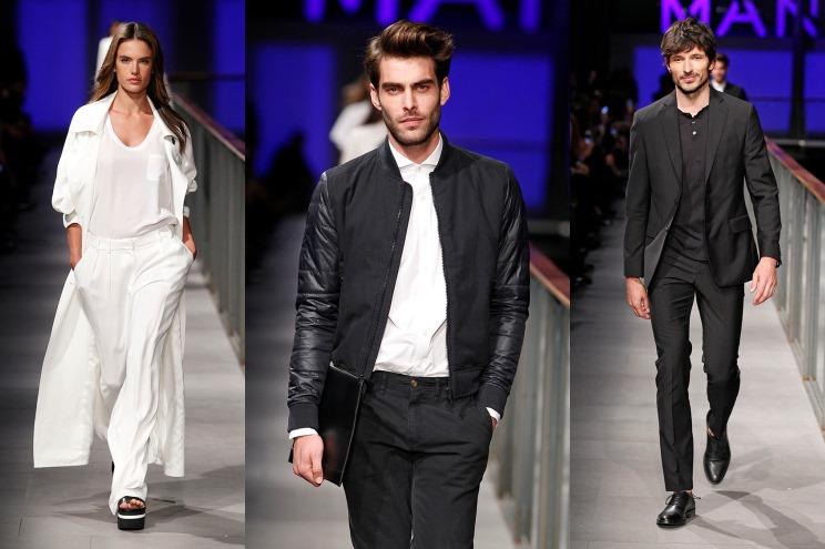 Mango zeigt den Sommer 2014 - Simpel, aber dafür mir Staraufgebot - Alessandra Ambrosio, Jon Kortajarena und Andrés Velencoso - 080 barcelona Fashion