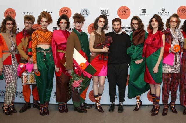 080 Barcelona Fashion Autum/Winter 2014/15 -Kollektion von Manuel Bolano