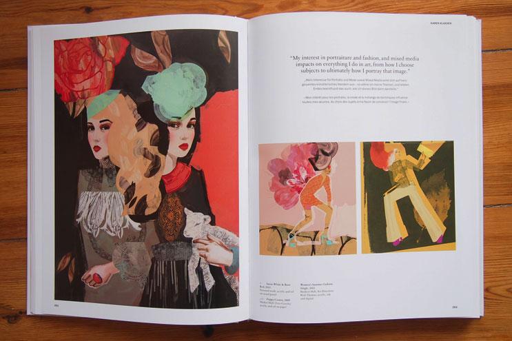 100 Illustrators Karen Klassen Illustration