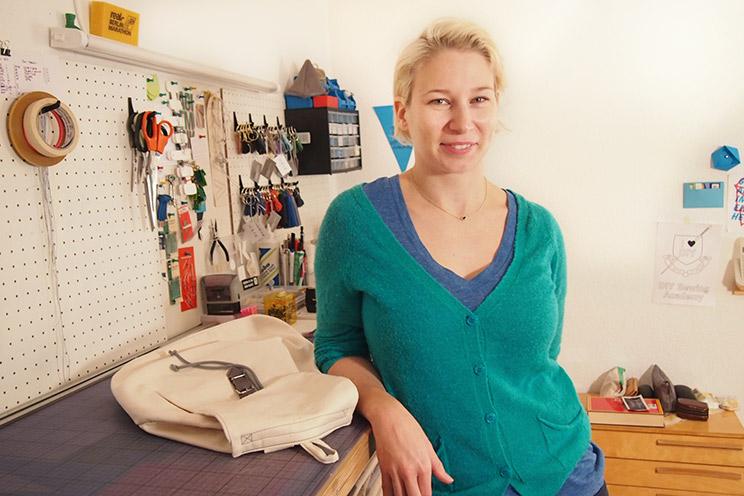 Taschendesignerin Kasia Ehrhardt von KSIA BERLIN