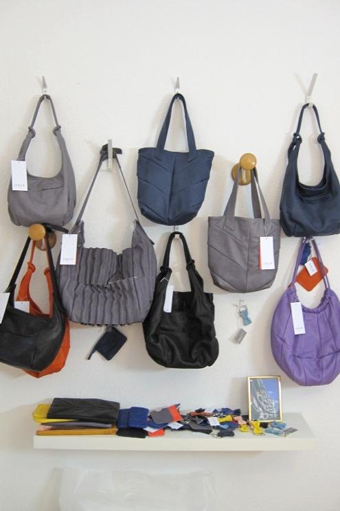 Taschen aus ökologischem Leder von KSIA BERLIN