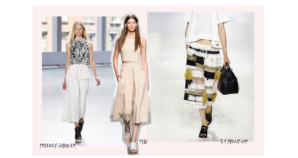 Cool Culottes – Die Hosen dieses Sommers sind verkürzt und
