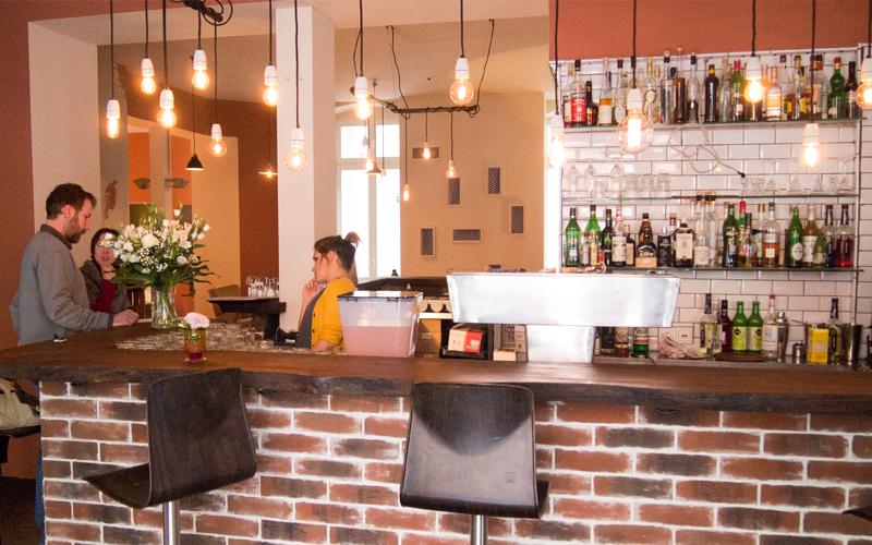 Bar im restaurant Muse am Prenzlauer Berg
