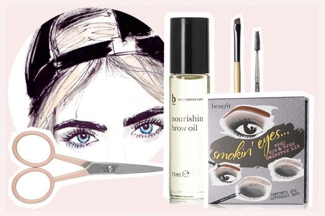 Pflege und Styling für die Augenbrauen