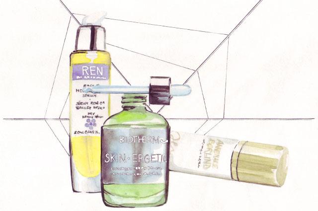 Beauty serum gegen falten, Beauty Seren von Biotherm, ren, kiehls