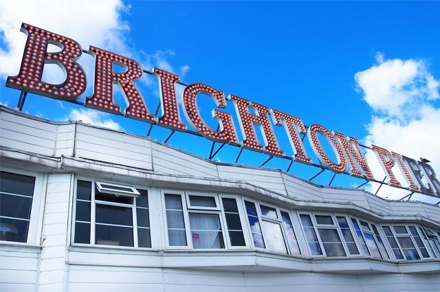Brighton Pier und Tipps für eine Städtereise nach Brighton, Empfehlung, Buchen, Hotel, Shops, Restaurants