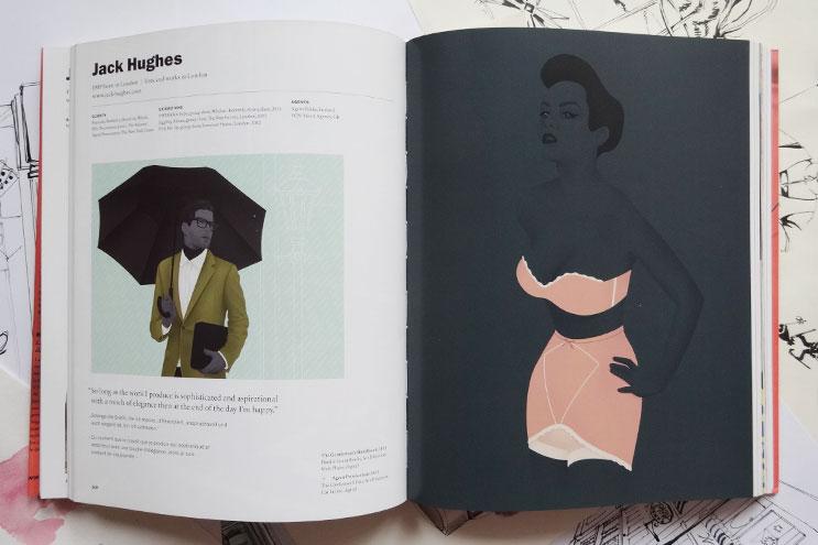 Arbeiten von Illustrator Jack Hughes