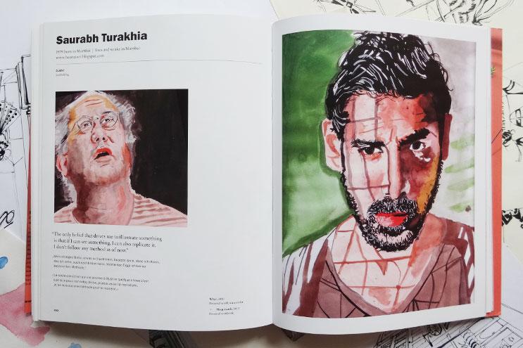 Arbeiten von Illustrator Saurabh Turakhia