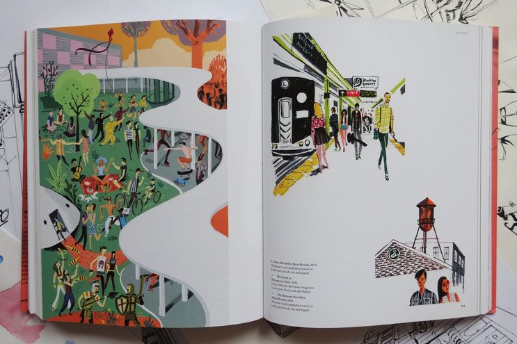 Arbeiten von Illustrator Nik Neves