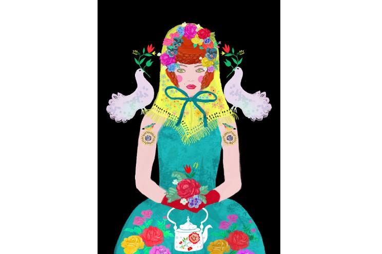 Illustratorin Elisandra Sevenstar aus Berlin als Kunstdruck online bestellen