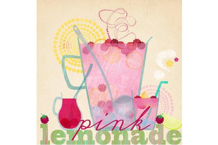 Posterdruck illustration von Elisandra - Limonade - als Dekoration für die Küche