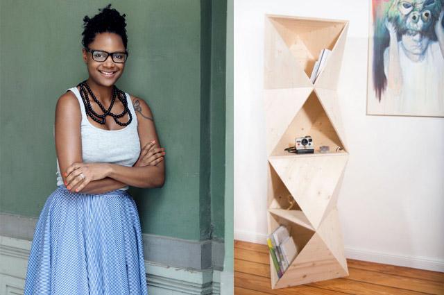 Jennifer Reaves, geschäftsführerin der Designmesse Blickfang - Regal von unmoebel, designer, Aussteller, standorte