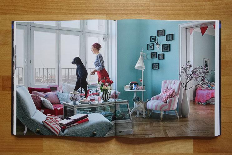 Enie van de Meiklokjes zeigt ihre Berliner Wohnung