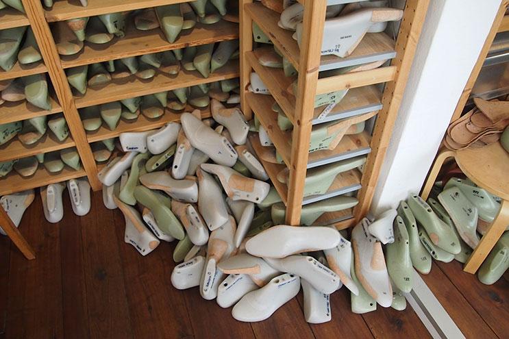 Schuhleisten für die Herstellung von hochwertigen Lederschuhen