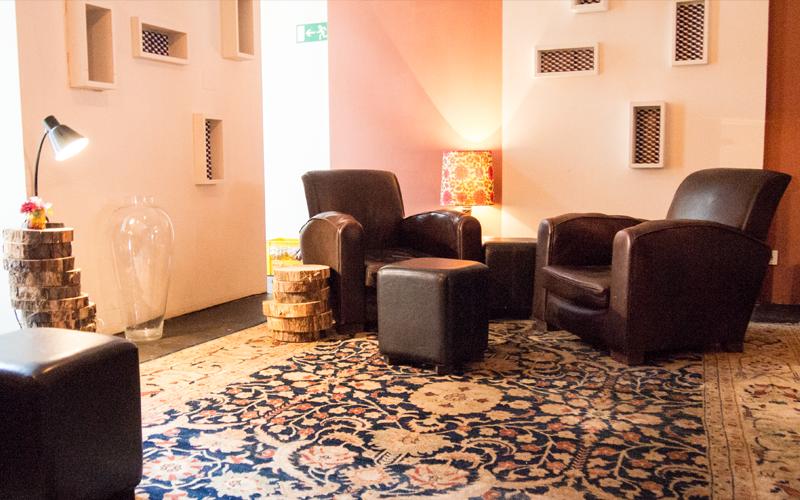 Loungebereich im Restaurant MUSE