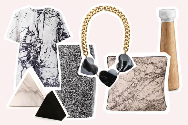 Marmor Prints und Strukturen für Interiordesign