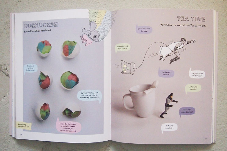 Spielerisch Kochen und Tee trinken