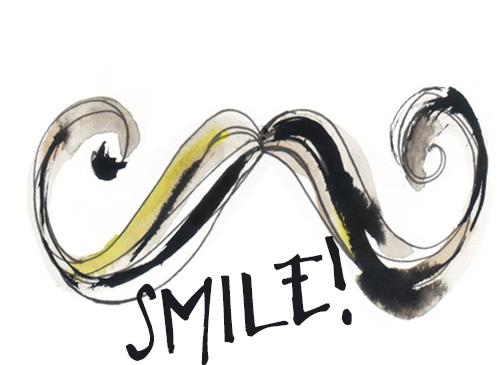 Schnurrbart Illustration