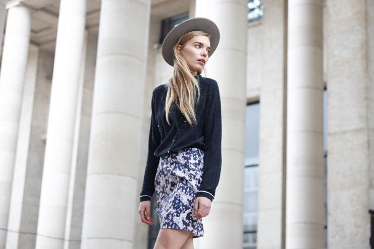 Schöner Look aus der Capsule Kollektion von Valentine Gauthier pour Vila