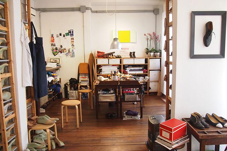 Atelier von saskia Wittmer in Florenz, Italien