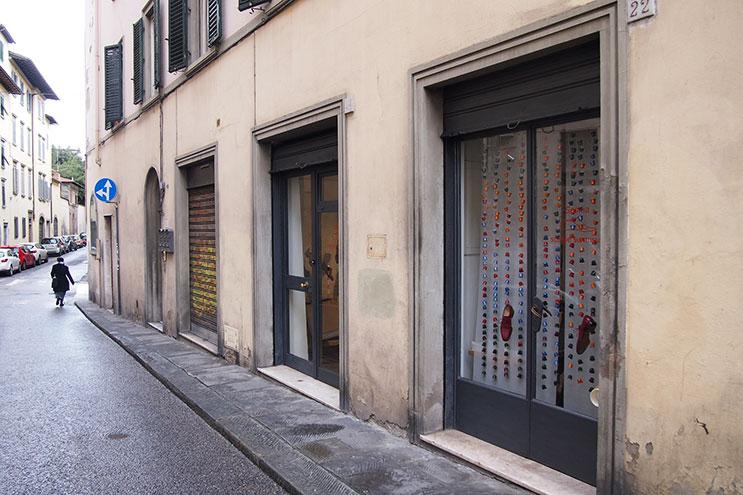 Scarpe Su Misura in der Via die S. Lucia in Florenz