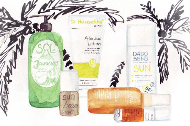 Hautpflege für den Sommer-Beauty-Produkte 2014