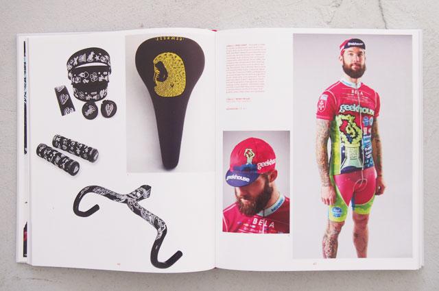 Hipster Biker in Velo