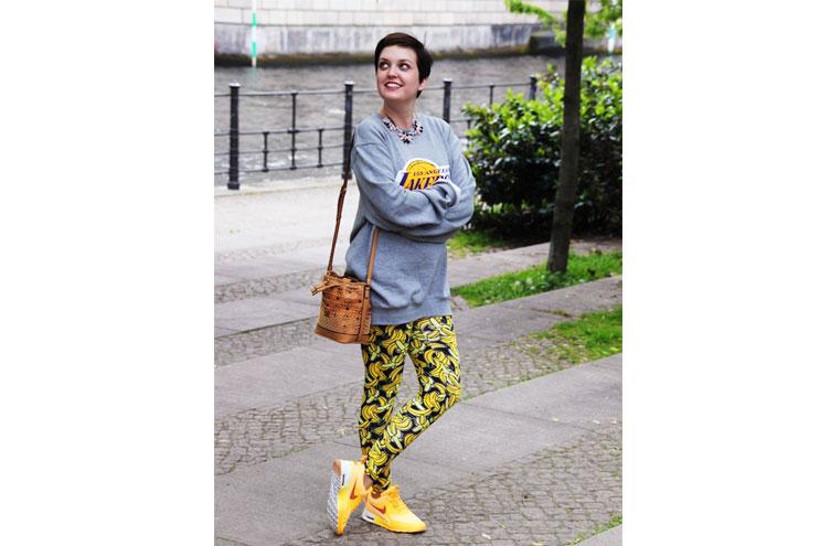 Bloggerin Vreni Frost im Sneaker-Look mit Sportswear