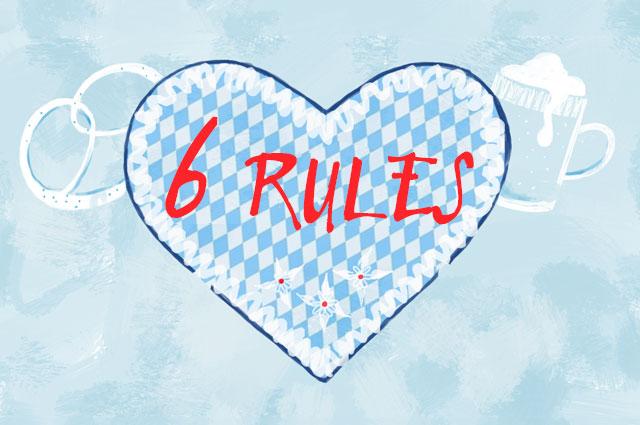 Wiesn SOS - Regeln für das Oktoberfst 2014