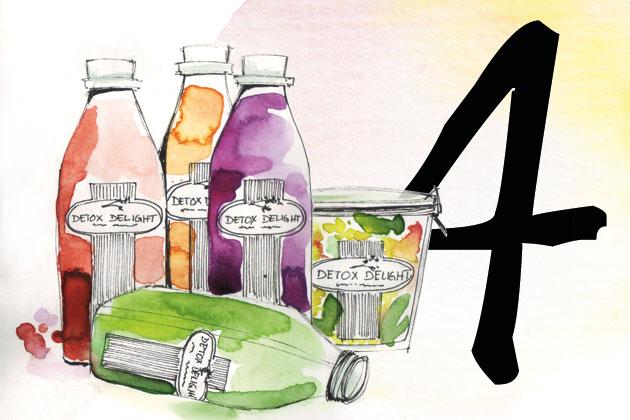 Detox Delight Saft Kur im Adventskalendergewinnen
